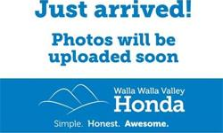 3.3L V6 SMPI SOHC, 4WD.    At Walla Walla Valley Honda, our company is guided by our 5 Principles of Awesomeness. The sole purpose of these principles is to make buying a car as straight forward as po