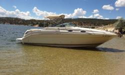 CABIN CRUISER with BEMINI TOP Fully Loaded, well maintained, seldomly used, garage stored and READY FOR FUN !!!! - Enclosed Bathroom - Bedroom - 2 Burner Stove - Microwave - Kitchen Table (folds into