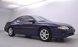 To learn more about the vehicle, please follow this link: http://used-auto-4-sale.com/77566353.html 2002 Chevrolet Monte Carlo with a 3.8L V6 Automatic 4-Speed. Blue. Fun and sporty! You are looking a