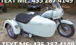 Up for sale is my prized Guzzi-Hack. This bike is a custom job, built by a master sidecar-craftsman in Maryland. The bike is filled with custom parts to make it work right - modified triple tree, the