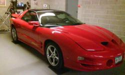 2002 Trans Am FireHawk T-top, RED! Auto. Great for sitting back and cruising. Loaded #932 of 2000 in united state .Half are in bone yard. This car has only 75,000 miles and spotless, with all records,