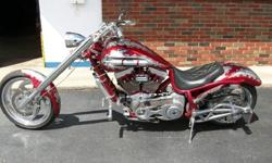 """*****For a faster respond please reply with your phone number! Thanks*****"""" 2003 Bourget Fat Daddy Chopper- Year : 2003- Make : Bourget- Model : FAT DADDY- Mileage : 850- Color : Red- Engine Size (cc)"""