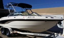 EXCELLENT SHAPE!! GREAT FAMILY BOAT! ONLY 201 HOURS 20' LONG 200SSI BOWRIDER RUNABOUT 5.0 LITER GXI 260 HP VOLVO PENTA STAINLESS PROP NEW STARTER TRAILER TIRES 95% TREAD WAKE BOARD TOWER SWIM STEP WIT