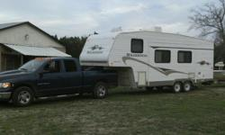 Make: Fleetwood Model: Other Year: 2004 Condition: Used 2004 Fleetwood Wilderness BHS 255 Fifth Wheel camper with new roof, tires, slide out motor and power converter replaced about 2 years ago. Sleep