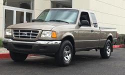 3.0L FFV V6, ABS brakes, Illuminated entry, Remote keyless entry. 2003 Ford Ranger XLT Odometer is 4596 miles below market average! We provide 145 point inpection on all our used vehicles. It's our mi