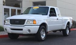 New Price! 3.0L FFV V6. 2003 Ford Ranger Priced below KBB Fair Purchase Price! Odometer is 48191 miles below market average! We provide 145 point inpection on all our used vehicles. It's our mission t