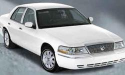 One of the best things about this 2003 Mercury Grand Marquis GS is something you can't see, but you'll be thankful for it every time you pull up to the pump** In these economic times, a awes