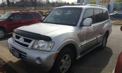 We are excited to offer this 2003 Mitsubishi Montero. Your buying risks are reduced thanks to a CARFAX BuyBack Guarantee. Off-road or on the street, this Mitsubishi Montero 20th Anniv handles with eas