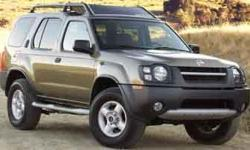 2003 Nissan Xterra SE S/C 3.3L V6 SMPI SOHC Supercharged 3.3L V6 SMPI SOHC Supercharged. Please contact the BDC Deprtment and ask for Catherine, Dondra or Amy. They will be more than happy to set up an appointment with our sales staff and introduce you to