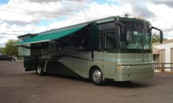 2003 Winnebago Ultimate Freedom Model: 40ED CLASS A Diesel Pusher 40 FT **** TRIPLE SLIDE **** SPARTAN CHASSIS Powered By CUMMINS 400HP 8.8 L 6-SPEED TRANSMISSION Odometer: 84,847 Sleeps up to 4 Vehic