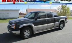 Exterior Color: dark gray metallic, Body: Extended Cab Pickup, Engine: 5.3L V8 16V MPFI OHV, Fuel: GASOLI, Doors: 4