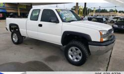 Exterior Color: white, Body: Extended Cab Pickup, Engine: 4.8L V8 16V MPFI OHV, Fuel: GASOLI, Doors: 4