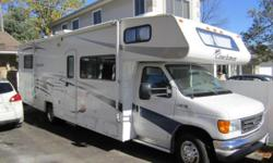 This motorhome has all the Deluxe and Premier Options and has 42500 miles. Made for your enjoyment In a Freelander 3100SO Class C Motorhome by Coachmen, there is no need to rush or worry about reserva