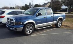 Leather Seats, Non Smoker, and Heated Seats. 4D Quad Cab and HEMI Magnum 5.7L V8 SMPI. Tried and True Reliability!   Price Dover, home of the Used Car Super Stars at the World Famous Used Car Super St