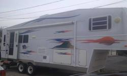 2004 Holiday Rambler Savoy 30ft Gooseneck with 12 ft slide. This was a great camper we used in Orange Beach a lot this year. I want to upgrade to something bigger, but the missus says this one has got