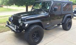 Selling my 2004 Jeep Wrangler Limited with only 92K miles! This is a fun Jeep to drive and is in great shape. Options: Automatic, 4x4, AC/heater, cd and over sized tires, all matte black!! Best for Su