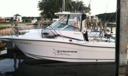 2004 Seaswirl Striper 2601WA Bought new in 2005 Boat house or garage kept unless in the water Very low hours only 132 hr on main motor and approx 30 hr on trolling motor with a total of 162 hr on hull