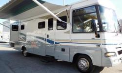 """2004 Winnebago Adventurer 33V with 2 Slide-outs GM 8.1 Vortec engine with only 27,060 miles Workhorse Chassis with Allison Transmission and Overdrive Fiberglass Roof """"not rubber"""" Rear Queen Bedroom wi"""