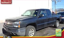 1 OWNER-CLEAN CARFAX-NEW SHOCKS-4X4-FOUR WHEEL DRIVE-AUTOMATIC-2005 Chevrolet Silverado 1500 with 108,740 It comes with Standard features include: Remote power door locks, Power windows with 2 one-touch, Automatic Transmission, 4-wheel ABS brakes, Air