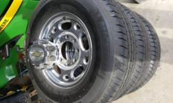 Tires are in excellent condition been taken care of. Tread wear is excellent 40 to 50 thousand miles left. Have some room for negotiations as well. Tire size is 245/75/r16