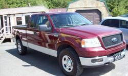 2005 Ford F-150 Supercab 4X4 with great deals of extras. Power windows, locks, sunroof, cruise, tilt and air conditioning. Super clean South Carolina truck. Drives and runs fantastic. For more details