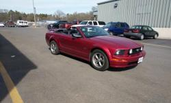Welcome to Hertrich Frederick Ford This sporty Ford Mustang convertible leads the class in performance and refinement. The Ford Mustang GT Premium is well maintained and has just 62,635 miles. This lo