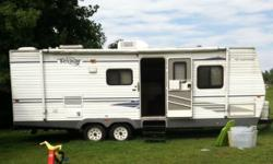 2005 Fleetwood Terry Travel Trailer M-270 FQS This is a travel trailer pull behind -- not a 5th wheel or Class A Work Site Office - Why pay $60,000 for an office trailer that is not fully contained an