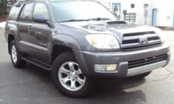 For the ultimate SUV - look no further! Enjoy the genuine off-road capabilities and smooth ride on the road. You won't get stuck in the mud with this 4WD 4Runner! Toyota has delivered a safe and bulle