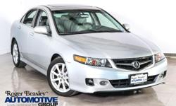 Sensibility and practicality define the 2006 Acura TSX! This is an excellent vehicle at an affordable price! This 4 door, 5 passenger sedan provides exceptional value! Acura prioritized handling and performance with features such as: leather upholstery,