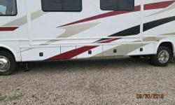 This is a very clean, well taken care of 36 foot Damon Challenger Motorhome. Being kept inside. It has 19,491 original miles and lots of amenities. It has automatic jack leveling system. It has two pu