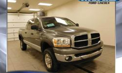 HEMI 5.7L V8 and 4WD. Crew Cab! Short Bed! This attractive 2006 Dodge Ram 1500 is the rare family vehicle you are hunting for. Load this truck down with passengers, cargo, whatever! Its cavernous spac
