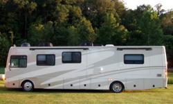 This is a 2006 Fleetwood Excursion 39S Diesel Pusher Luxury Class A Motorhome, powered by a Cat C7 350HP Turbo engine with a 6 speed Allison transmission. Equipped with three huge slide outs. Air Brak