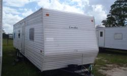 Don?t rent?.Own Your Own!! Take with you when you move!! Will make excellent temp home for working in the oil field!!! What a deal!! You can own a 30ft Gulf Stream Cavalier travel trailer for as little as $17, 500/OBO. Sleeps 6 comfortably, Appliances and