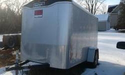 2006 Haulmark Enclosed Trailer - $2550 or best offer Weighs 1292 pounds One side door 12 inches from the front (32inch bar-lock side door) Light weight ramp door in the rear Please call or text 715-21