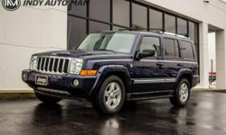 Options:  2006 Jeep Commander Limited|2006 Jeep Commander Limited Blue Just Reduced! Clean Carfax. 3Rd Row Seating|Tow Package|Sunroof|Leather|Heated Front Seats|Fuel Tank Skid Plate Shield|Skid Plate