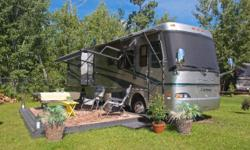 2006 Monaco Cayman 37' model 36SBT with 3 slides. This unit is in excellent clean condition and comes equipped with Cummins 300 HP diesel engine, Allison transmission, Roadmaster chassis, Onan Quiet D