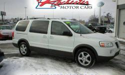 2006 Pontiac Montana SV6, FWD with 109,084 miles. This local non-smoker trade has the 3.5L, V6 engine, automatic transmission, power driver seat, cloth interior, CD stereo, keyless entry, back-up sens