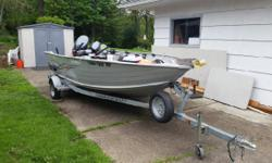 2006 Smoker Craft 16 Lodge. 2006 Smoker Craft 16 Lodge model in great condition- 2007 Yamaha 40hp - 6hp Kicker Columbia river- Anchor system - 2 Anchors- Fish Finder- 6 Rod holder- Boat cover- Everyth