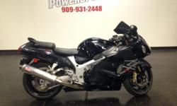 2006 SUZUKI GSXR1300 HAYABUSA We Finance! Apply online today or stop by and check her out in person. If you have any questions give us a call 909-931-2448 We have FULL Parts Department & Full Service