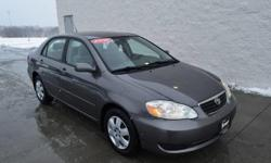 Smart Toyota of Quad Cities is pleased to be currently offering this 2006 Toyota Corolla LE with 98,157 miles. Everyone hates the gas pump. Skip a few gas stations with this super fuel efficient Toyot