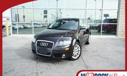 ***TRADE IN VEHICLE!!! LEATHER AND PANO ROOF!!!*** MURDOCK NO REGRETS!! NO REGRETS MEANS INSPECTED AND SERVICED BY A CERTIFIED MECHANIC!! COMES WITH A WORRY FREE WARRANTY!! This 2007 A3 is for Audi nu
