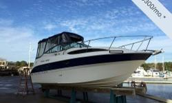 - Stock #73810 - This Bayliner 245 will make a great cruiser for the couple who wants to spend the weekends on the water or for a full family. She provides enough room to bring the family and 10 frien
