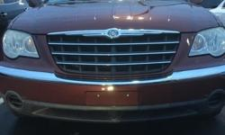 Chrysler 2007 Touring Maroon  Options:  7 Speakers|Am/Fm Compact Disc W/Changer Control|Am/Fm Radio|Cd Player|Mp3 Decoder|Air Conditioning|Automatic Temperature Control|Front Dual Zone A/C|Rear Air Co