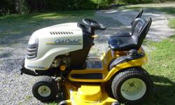 """2007 CUB CADET RIDING MOWER 54"""" deck/ 27 HP kohler engine, Hydrostatic Drive, Excellent condition, Low hours @ 183 hrs. $1500.00 OBO 423-505-3139 // //]]> Location: CLEVELAND"""