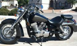 Here is a deal you can't pass up if you're seriously looking for a very nice cruiser. It is a 2007 Honda Shadow Aero VT750 with only 1,100 original miles. (YES!!!! 1,100 ORIGINAL MILES). It is a nice