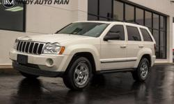 Options:  2007 Jeep Grand Cherokee Limited|2007 Jeep Grand Cherokee Limited White Recent Arrival! Local Trade|Tow Package|Sunroof|Rear View Camera|Bluetooth|Hands-Free|Leather|Heated Front Seats|Premi