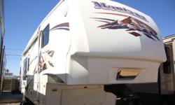 Check out this Super Clean Montana 5th Wheel! We just love it when we receive a trade-in, in this nice of shape ! Gently used and it shows!This coach features all the high end fit n finish you come to