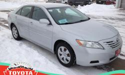 This 2007 Toyota Camry LE is offered to you for sale by Toyota Of The Black Hills. The Toyota Camry LE speaks volumes about it's driver, uncompromising individuality, passion for driving, and standard