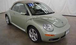Get ready to ENJOY! Wow! Where do I start?! brbrIf you're looking for an used vehicle in wonderful condition, look no further than this 2007 Volkswagen Beetle. You won't need to get out your tools for