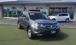 This 2008 Acura MDX  is offered to you for sale by Mercedes-Benz Of Maui. When you purchase a vehicle with the CARFAX Buyback Guarantee, you're getting what you paid for. This Acura MDX  has a tough e